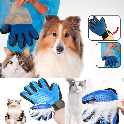 True Touch Pet Spazzola Leva Peli Animali Gatto Cat Pulizia Guanto Massagiante 3