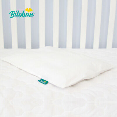 "Baby Newborn Pillow with Cotton Pillowcase Suitable for Infant Toddler 14""x19"" 4"