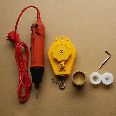 220V Handheld Electric Bottle Capping Machine Screw Capper Sealing Machine 80w