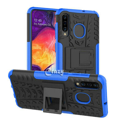 Samsung Galaxy A20 A30 A50 A70 Heavy Duty Shockproof Rugged Case Bumper Cover 3