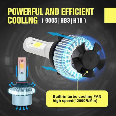 9006 9005 Hi Low Beam COB LED Headlight for Honda Accord 90-2012 Civic 2004-2015 8