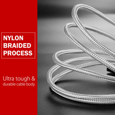 TYPE-C USB-C Data FAST CHARGING Charger Cable for Samsung S10 S9 S8 Plus Note 9 6