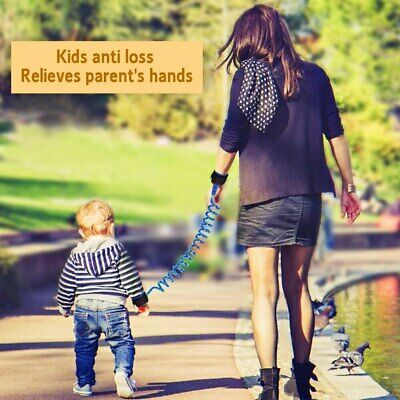 Anti-Loss Strap Wrist Link Hand Harness Leash band Safety for Toddlers Child Kid 3