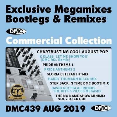 DMC COMMERCIAL COLLECTION Issue 439 Bootleg Remix & Megamix DJ Triple Music  CD