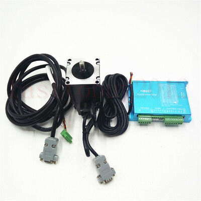 3NM Nema23 428Oz-in CNC Hybrid Servo Stepper Motor Drive DSP System Closed Loop 10