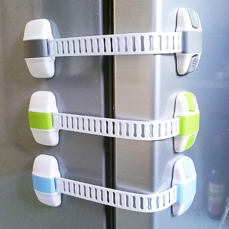 Latch Baby Safety Child Lock Appliance Adjustable Fridge Guard Door 3
