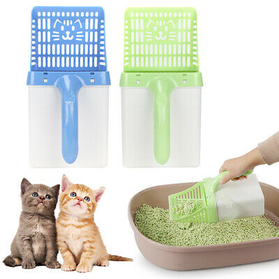 Cat Litter Scoop Plastic Waste Scooper Poop Pet Sand Shovel Cleaning Tool 2