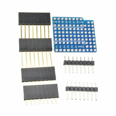 WeMos D1 Mini Double Sided perf Board ProtoBoard Shield FOR BSG 2