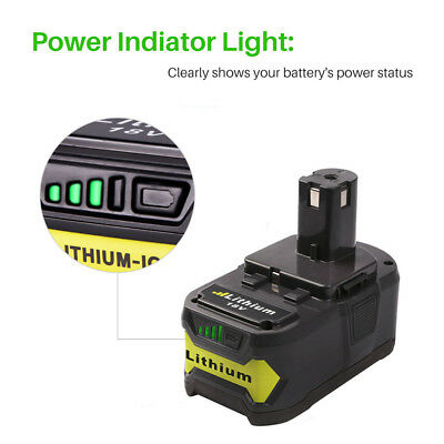 18V for P108 RYOBI ONE PLUS Li-ion High Capacity Battery P104 P105 P106 P107 4Ah 2