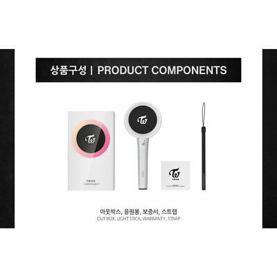 [TWICE] Official Goods Light Stick Candybong Z + Free Tracking Number NEW 9