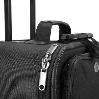 Kofferset Reisekoffer 5 Taschen Trolley Reise Koffer Set Tasche S M L XL schwarz 3