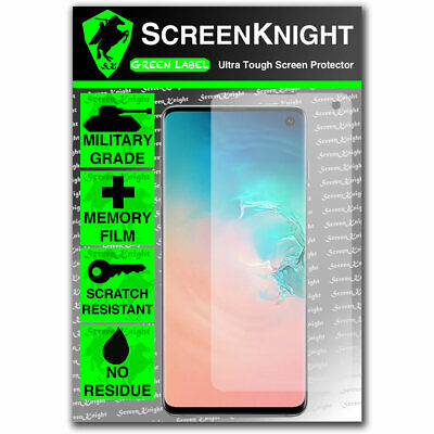 ScreenKnight Samsung Galaxy S10 SCREEN PROTECTOR - CURVED FIT 2