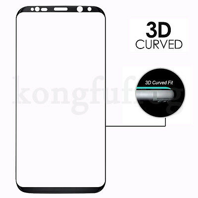 Full Cover Tempered Glass Screen Protector For Samsung Galaxy S7 Edge S8 S9 Plus 4