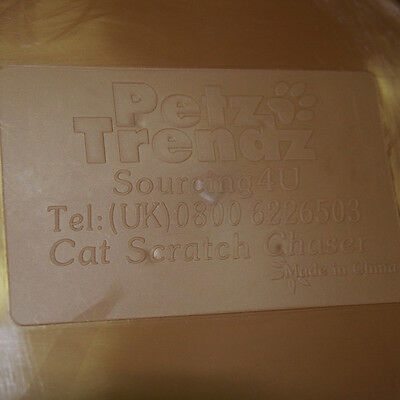 PetzTrendz® Cat Scratch Chaser FREE Cat-Nip - 3 Colours & Refills Available 6