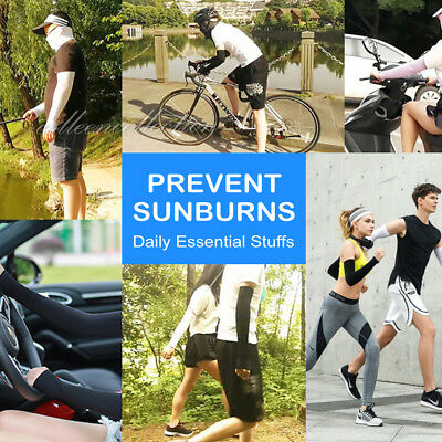 3 Pairs Cooling Sport Arm Stretch Sleeves Sun UV Protection Covers Cycling Golf 6