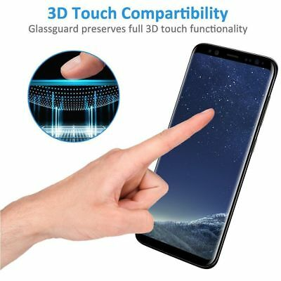 Case Friendly Curved Tempered Glass Screen Protector for Samsung Galaxy S9 S9+ 7