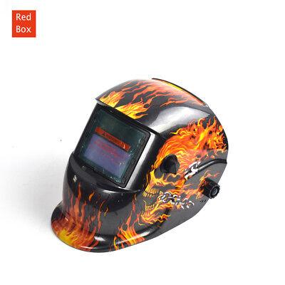 Solar Auto Darkening Welding Helmet ARC TIG Grinding Welder Shield Mask 2