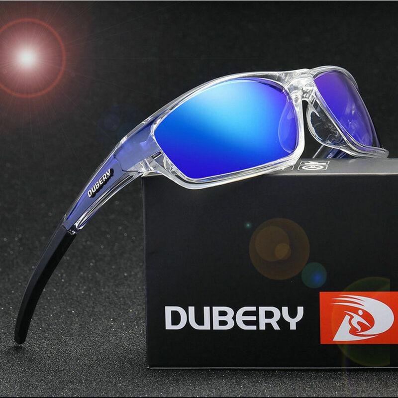 2019 DUBERY Men's Square Polarized Sunglasses Sport Outdoor Riding fishing New 2