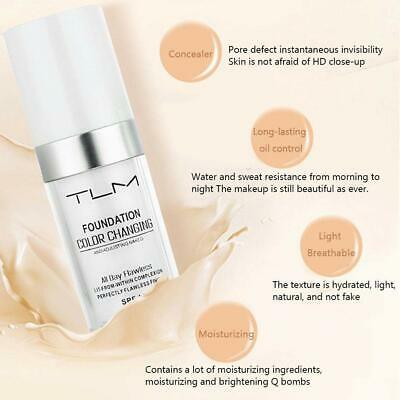 Magic Flawless Color Changing Foundation TLM Makeup Change Skin Tone Concealer 7