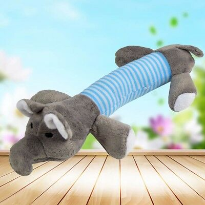 Pet Puppy Chew Squeaker Squeaky Plush Sound Pig Elephant Duck For Dog Toys 7