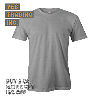 Aaa Alstyle 1301 Mens Casual T Shirt Plain Short Sleeve Shirts Cotton Tee Daily 7