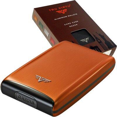 cda665ada039f ... TRU VIRTU Aluminium Kreditkartenetui Visitenkartenetui EC Kartenetui  RFID Etui 4