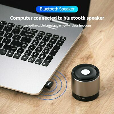 USB 5.0 Bluetooth Adapter Wireless Dongle High Speed CSR for PC Windows Computer 6