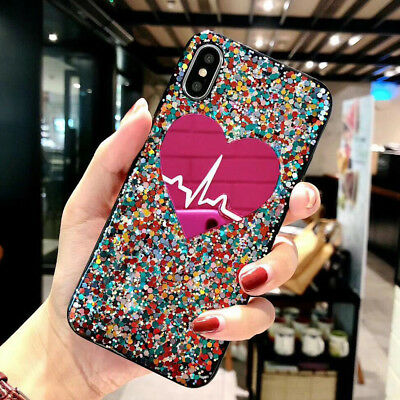 F iPhone 11 Pro Max 8 Plus XS Max XR Girls Love Cute Protective Phone Case Cover 3