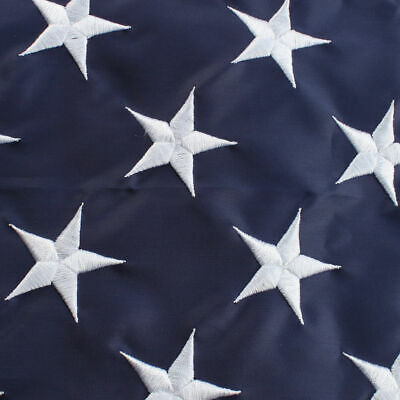 3x5 ft US American Flag Heavy Duty Embroidered Stars Sewn Stripes Grommets Nylon 3
