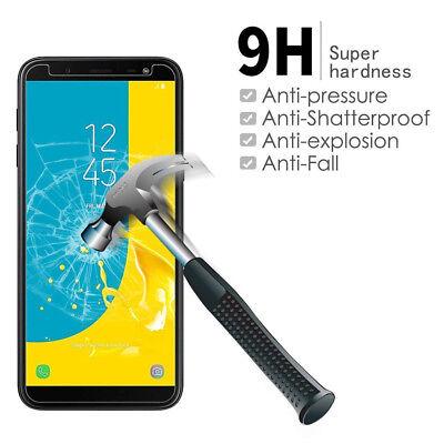 Film protection écran Galaxy Samsung J6 J6 Plus 2018 vitre verre trempé LOT1/4 4