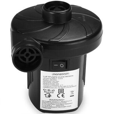 monzana® 2 in 1 Elektropumpe Elektrische Luftpumpe 12 / 230 V Gebläsepumpe 4