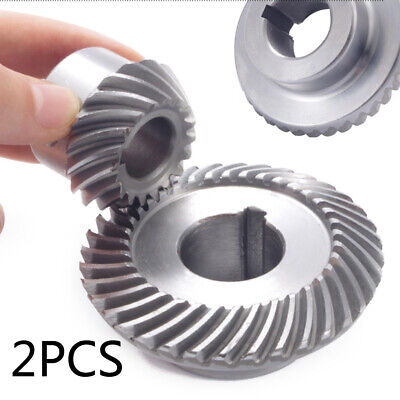 Milling Machine Lifting Gear C77+C96 Helical Mill Gear For Bridgeport Part 2pcs 5