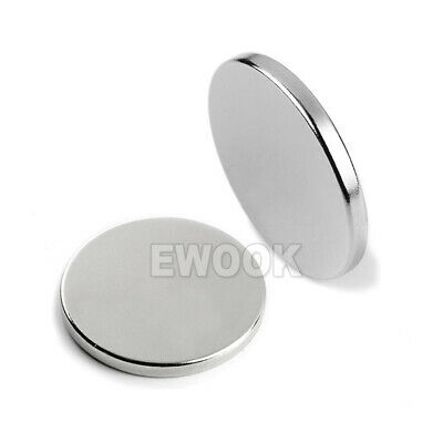 100x Super Strong Round Disc Magnets Rare-Earth Neodymium Magnet N35 10 x 2 mm 2