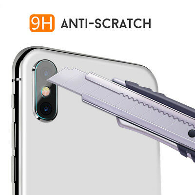 Apple iPhone XS Max XR X 8 Plus Camera Lens Tempered Glass Screen Protector 4