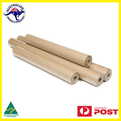 2x Brown Packaging Kraft Paper Roll 5m x 600mm Packing Wrapping Gifts A Grade