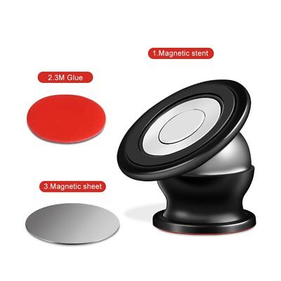 Magnetic Phone Holder 360° Universal Mobile Phone Magnet Car Mount Stand lot 3