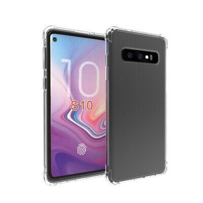 TPU Crystal clear 360°Soft Ultra thin Case Cover Samsung Galaxy S10 S7 Edge S8 + 11