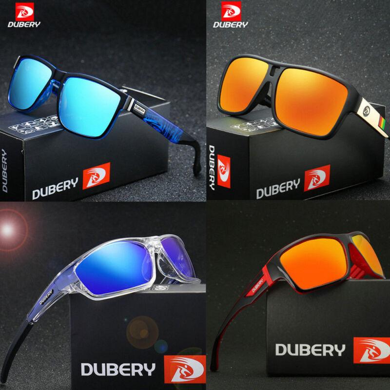 DUBERY Men's Sport Polarized Driving Sunglasses Outdoor Riding Fishing Goggles C 2