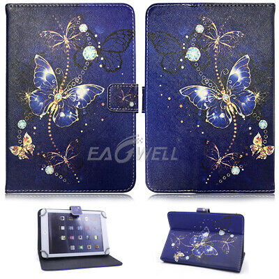 "For Apple iPad 2 3 4/Air/Mini/Pro 9.7"" 10.2"" Universal Leather Stand Case Cover 5"