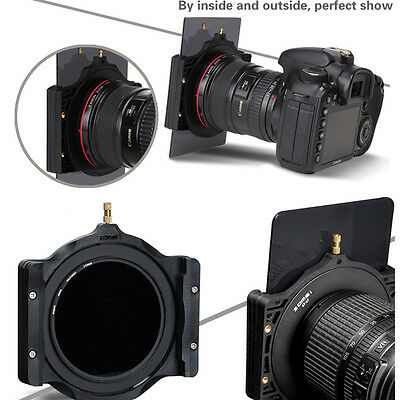 Zomei Multifunctional Filter Holder&72mm Adapter Ring for Cokin Z 100mm Camera