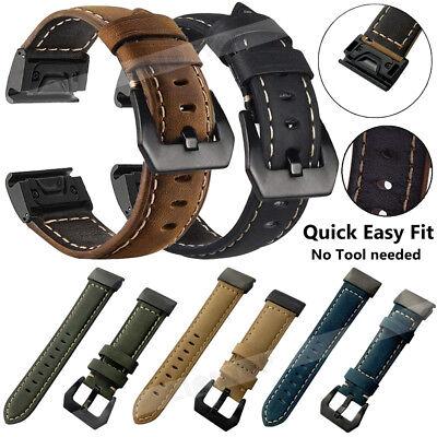 For Garmin Fenix 3 5 5X 5S Nylon/Silicone Strap Replacement Watch Band Bracelet 3