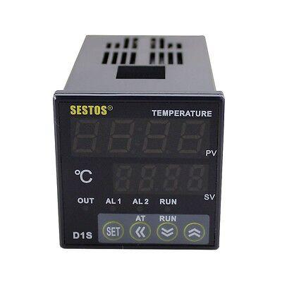 Digital PID Temperature controller Thermostat D1S-VR-220+25A SSR+2M K Sensor