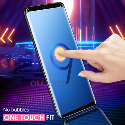6D Samsung Galaxy S9 S8 Plus Note 9 8 Full Cover Tempered Glass Screen Protector 9