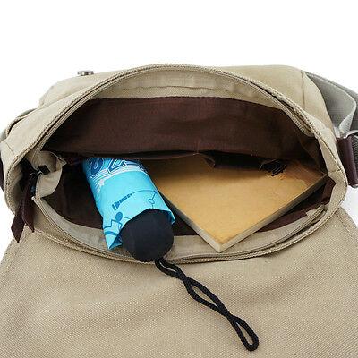 My Neighbor TOTORO Fashion Canvas Shoulder Messenger Bag School Bag Kid Gift 4