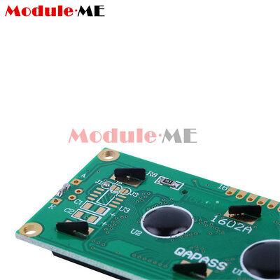 1/2/5/10X 1602 16x2 Character LCD Display Module HD44780 Controller Blue Arduino 7