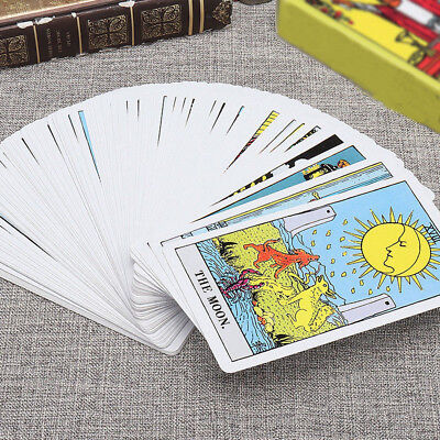 78Pcs Rider Tarot Deck Cards Sets 3