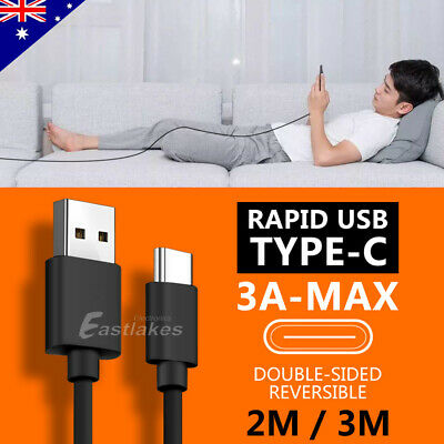 Rapid Charging USB Type C Cable Data Charger for Samsung S10 S9 S8 Plus Note 9 8 2