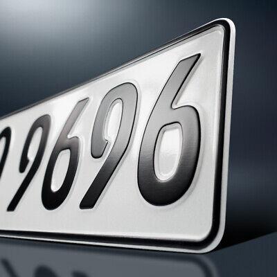 2x Kfz-Kennzeichen | 520 x 110 mm | Nummerschild | Autoschild | DHL-Versand 3