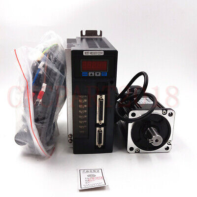 ToAuto 3 Axis 750W AC Servo Motor NEMA32 2.39NM KIt & CNC Controller for Milling 4