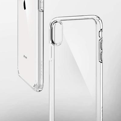 Cover Custodia + Pellicola Vetro Temperato Per Iphone Xs / Max / Xr Trasparente 7